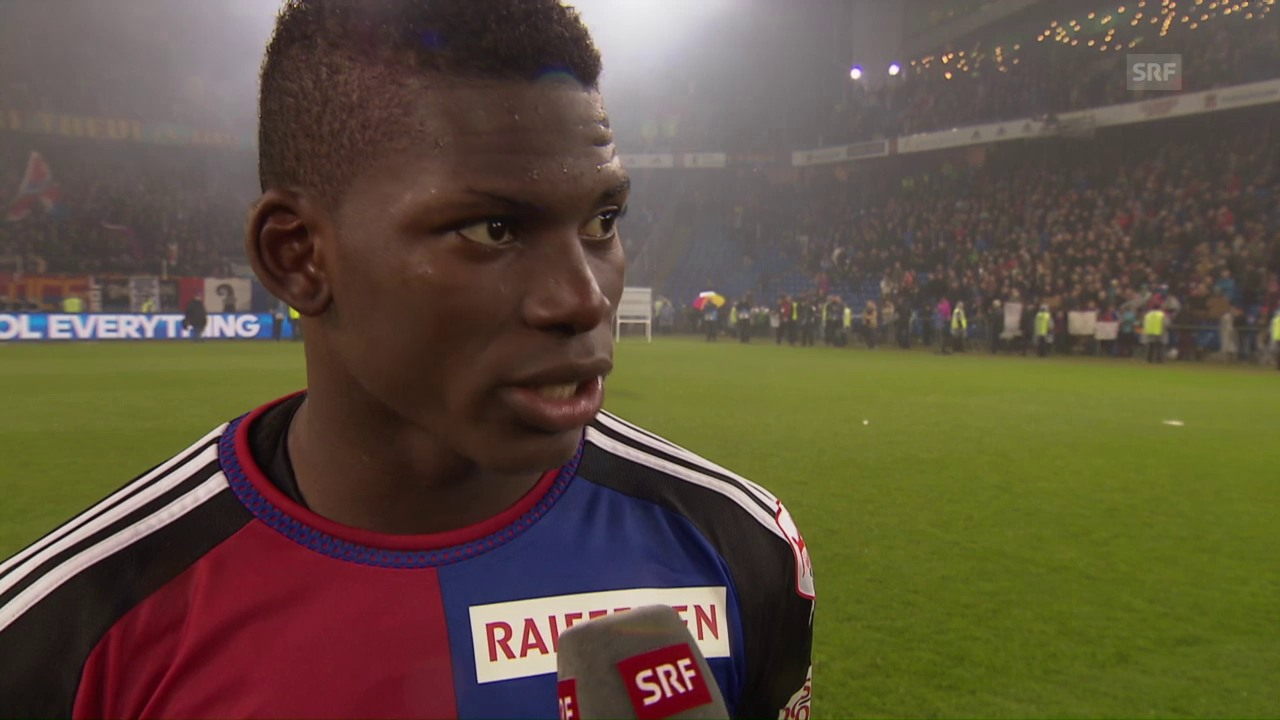 Breel Embolo im Meister-Interview