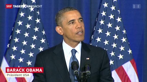 Video «Obamas Anti-Terror-Strategie» abspielen