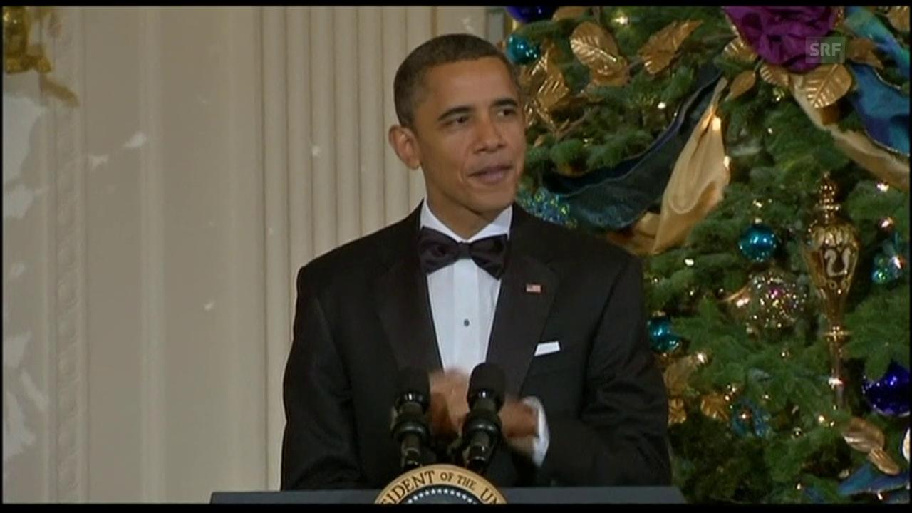 Obama zeichnet Winfrey aus, Agenturen vom 6.12.10