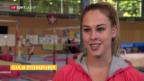 Video «Giulia Steingruber vor der EM in Bern» abspielen