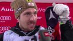 Video «Marcel Hirscher im Interview nach dem Slalom von Schladming» abspielen