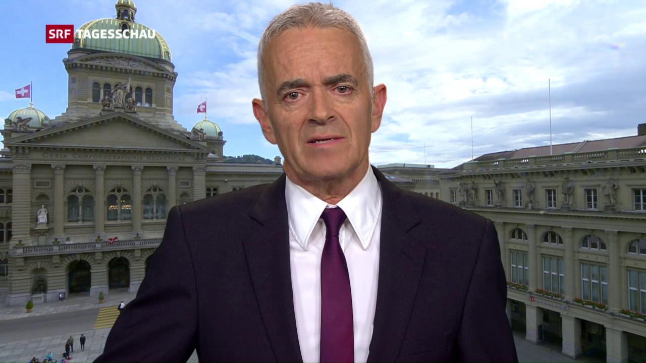 Fritz Reimann zur Debatte im Ständerat