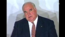 Video «1998; Helmut Kohl gesteht Wahlniederlage ein» abspielen