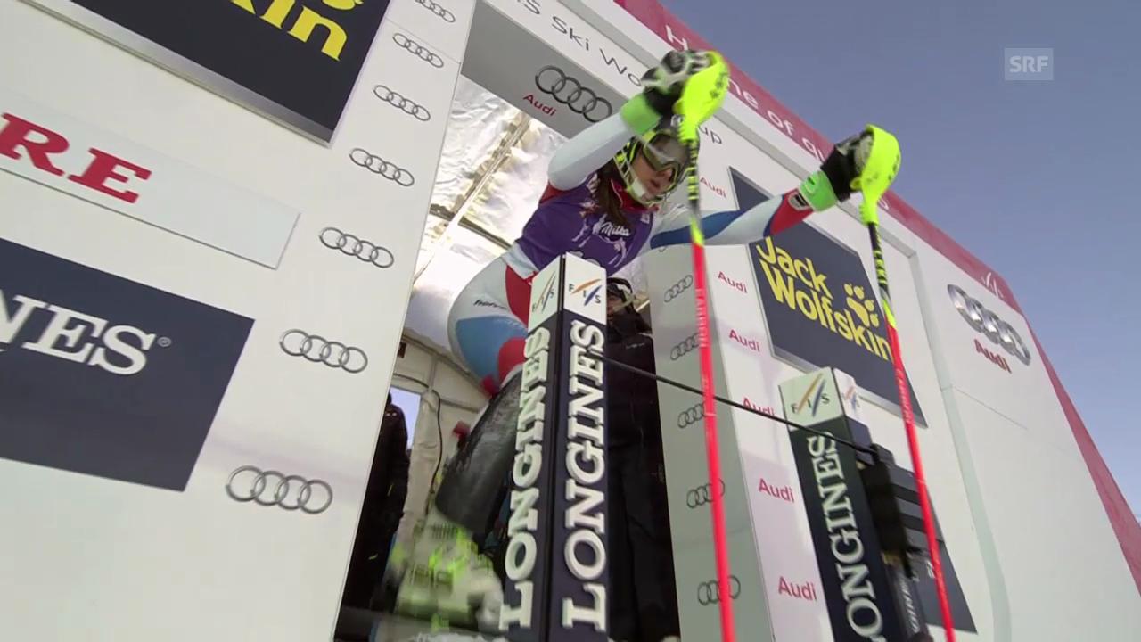 Ski: Weltcup Frauen, Slalom Are, 2. Lauf Wendy Holdener