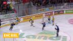 Video «Arlbrandt verlässt Biel, Earl und Dostoinow kommen («sportaktuell»)» abspielen