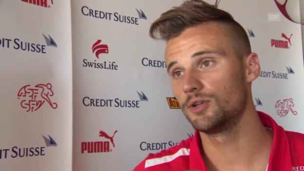Video «Interview mit Haris Seferovic» abspielen