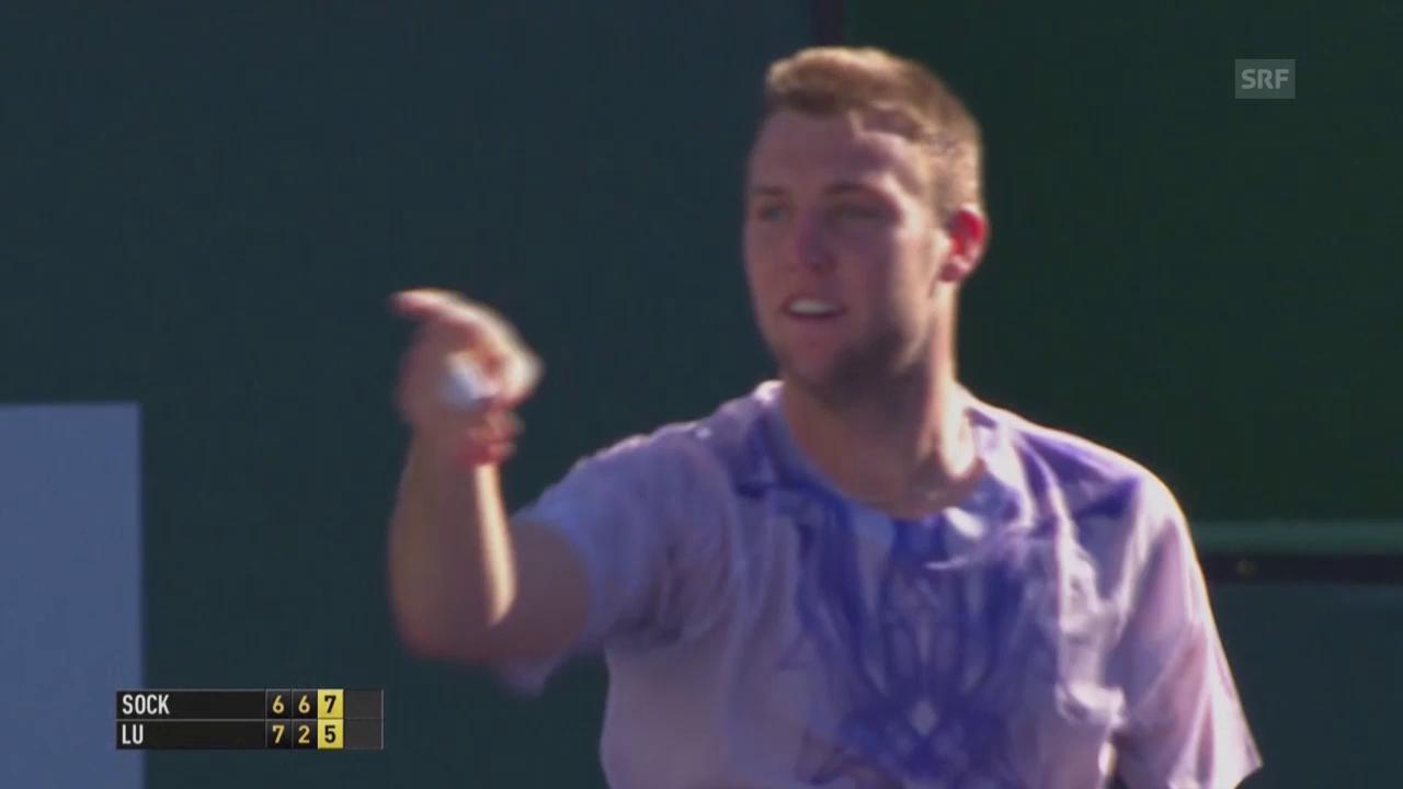Tennis: ATP 1000 in Indian Wells, Sock - Lu