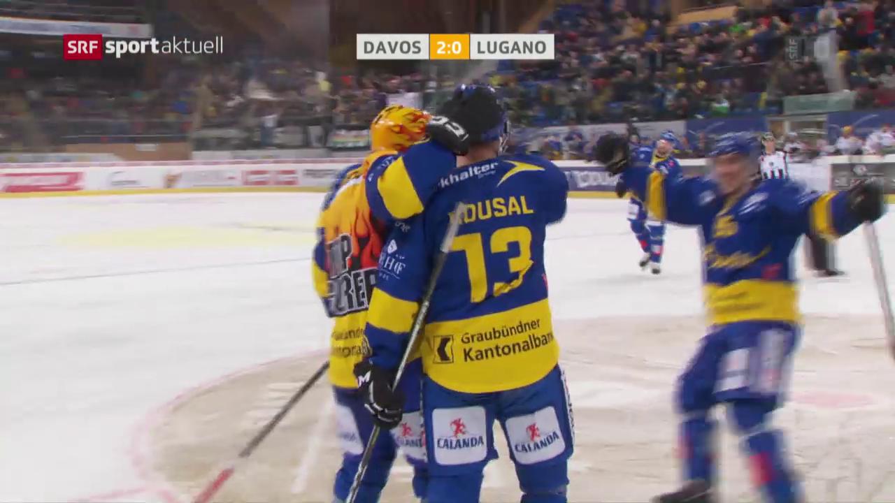 Davos nimmt erfolgreich Spengler-Cup-Revanche