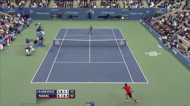 Video «Highlights Nadal-Djokovic («sportlive»)» abspielen