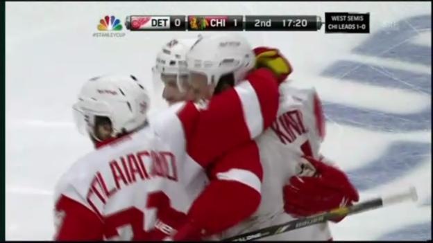 Video «NHL: Chicago-Detroit 1:4» abspielen