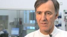 Video «Prof. Heinrich Mattle über die neuen Hirn-Stents in der Schlaganfall-Behandlung.» abspielen