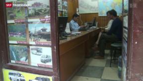 Video «Fehlende Touristen stellen Nepal vor weitere Probleme » abspielen