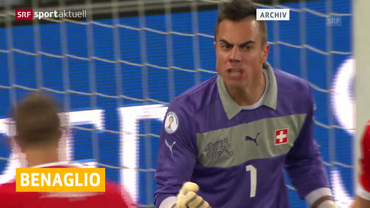 Fussball: Diego Benaglio wieder fit («sportaktuell»)