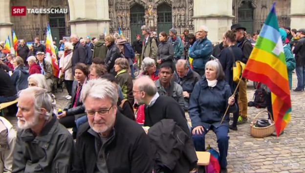 Video «Ostermarsch in Bern» abspielen