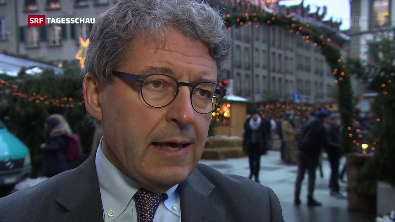 Heinz Brand (SVP/GR) zu verringerten Sozialleistungen
