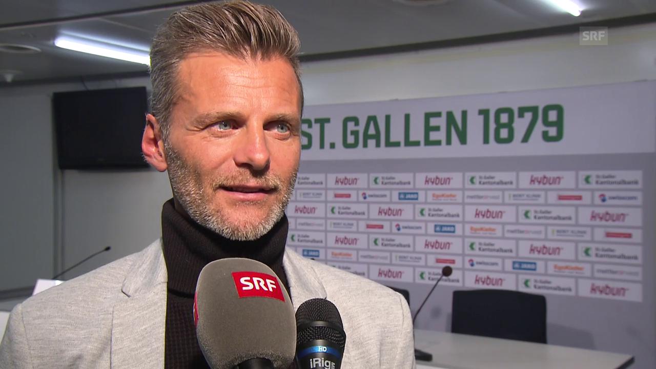 Das sagt Alain Sutter zu seinem Wechsel nach St. Gallen