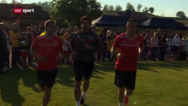 Video «Die FCZ-Stürmer Mario Gavranovic und Josip Drmic im Fokus» abspielen