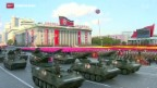 Video «Militärparade in Nordkorea» abspielen