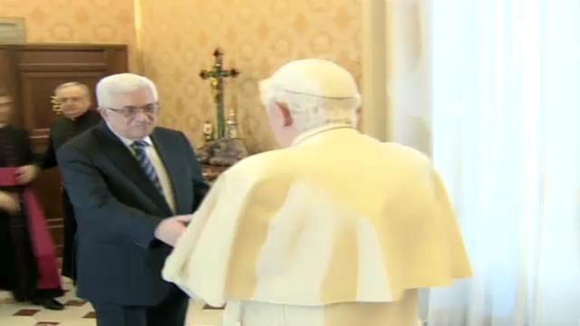 Mahmud Abbas trifft Papst Benedikt XVI. (unkommentiert)