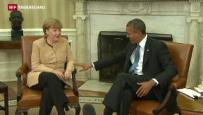 Video «Obama droht Russland mit weiteren Sanktionen» abspielen
