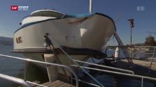 Video «Schiffsunfall bei Küsnacht» abspielen