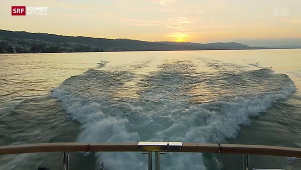 Seekontrolle auf dem Zürichsee