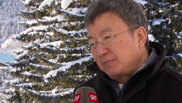 Video «IWF-Vize Min Zhu zur Entwicklung der Weltwirtschaft» abspielen