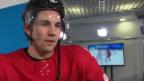 Video «Eishockey: Interview mit Simon Moser (sotschi direkt, 12.02.2014)» abspielen
