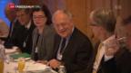 Video «Die Schweizer Wirtschaftsfragen am WEF» abspielen