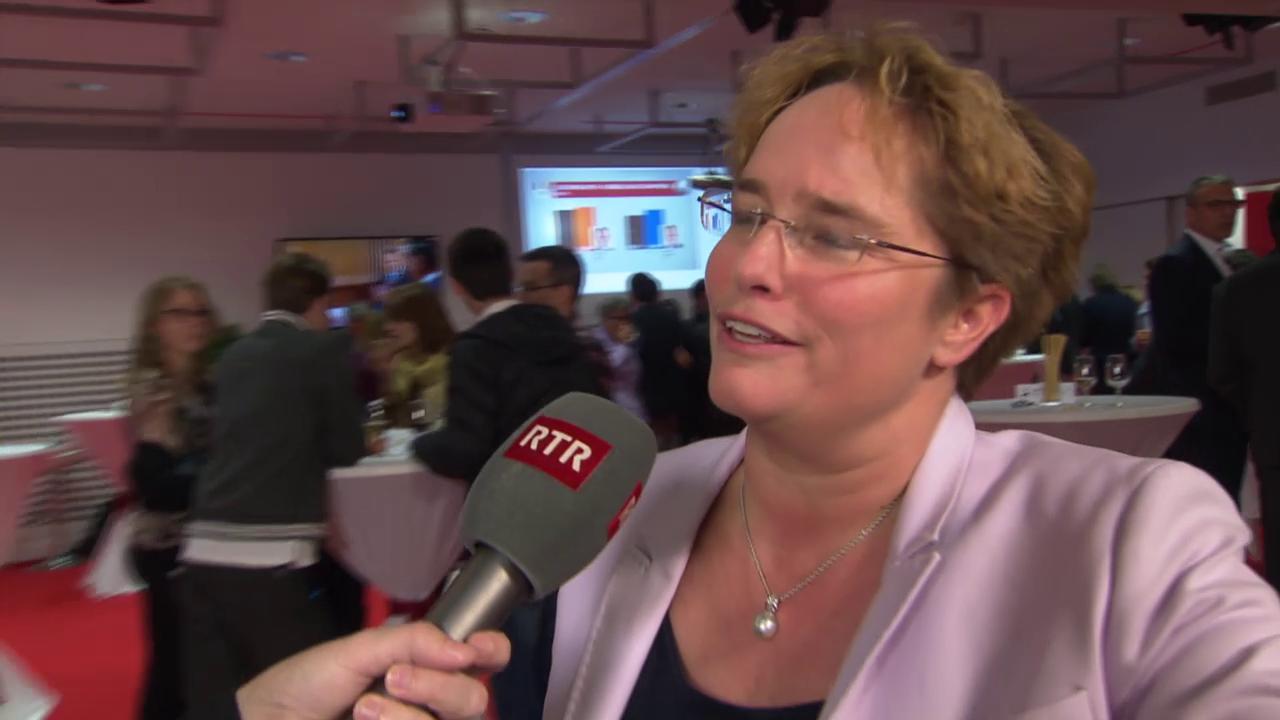 Discurs cun la nov elegida Magdalena Martullo Blocher