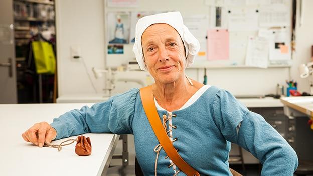 Video «Marie-Therese Zgraggens Glücksbringer im Lederbeutel» abspielen
