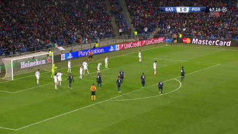 Video «Fussball: CL, Basel-Porto, 1:1 aberkannt» abspielen