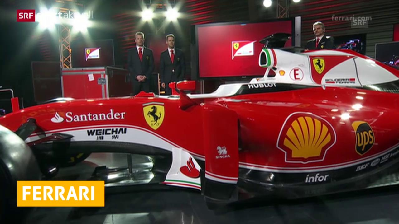 Der neue Ferrari-Bolide