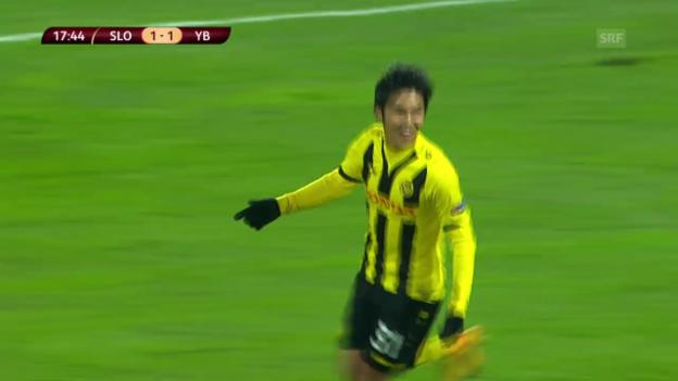 Video «Fussball: Europa League, Bratislava - YB» abspielen
