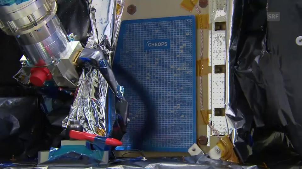 Das ist der Cheops-Satellit (unkommentiert)