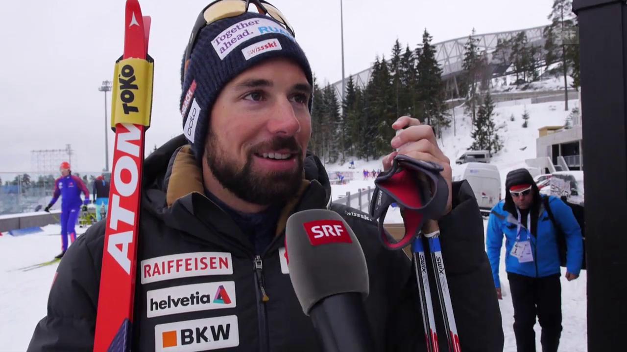Benjamin Weger vor der WM in Oslo im Interview
