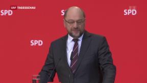 Video «SPD für Koalitionsgespräche mit CDU/CSU» abspielen