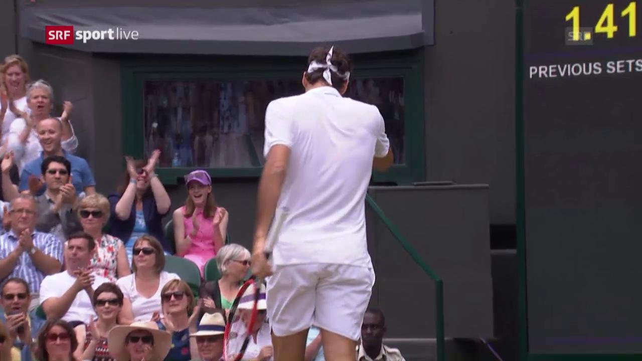 Federer lässt das Tennisjahr 2016 hinter sich