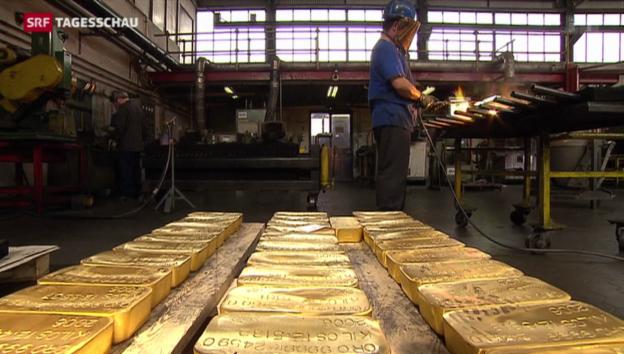 Video «Woher das Gold kommt» abspielen