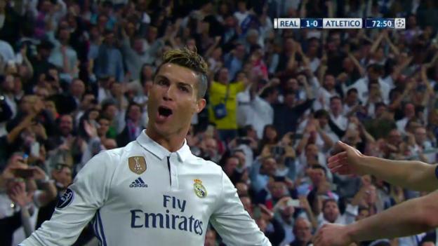 Video «Der Hattrick von Cristiano Ronaldo gegen Atletico» abspielen