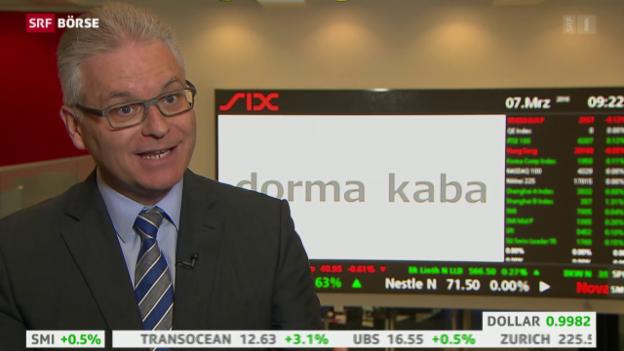 Video «SRF Börse vom 07.03.2016» abspielen
