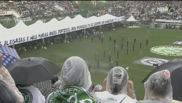 Video «Trauerfeier in Chapecó» abspielen