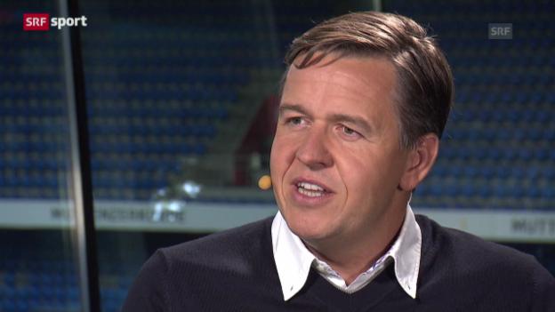 Video «Daniel Wermelinger im Gespräch («sportlounge»)» abspielen