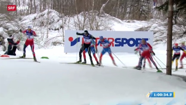 Video «Dario Cologna holt Gold» abspielen