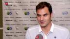 Video «Federer: «Ich konnte das Beste zum Schluss aufsparen»» abspielen