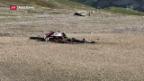 Video «Flugzeugabsturz im Kanton Graubünden» abspielen