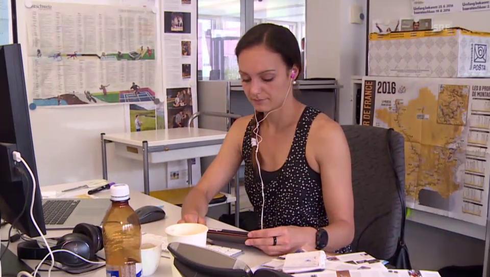 «Mein Leben nach dem Spitzensport» mit Sarah Meier