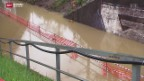 Video «Überschwemmte Bahngleise» abspielen