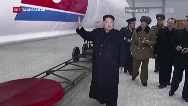 Video «China fordert Nord- und Südkorea zum Handeln auf» abspielen