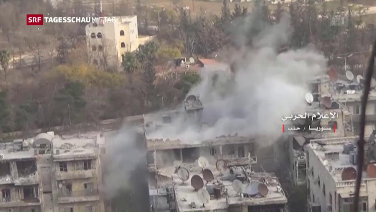 Aleppo kurz vor dem Fall